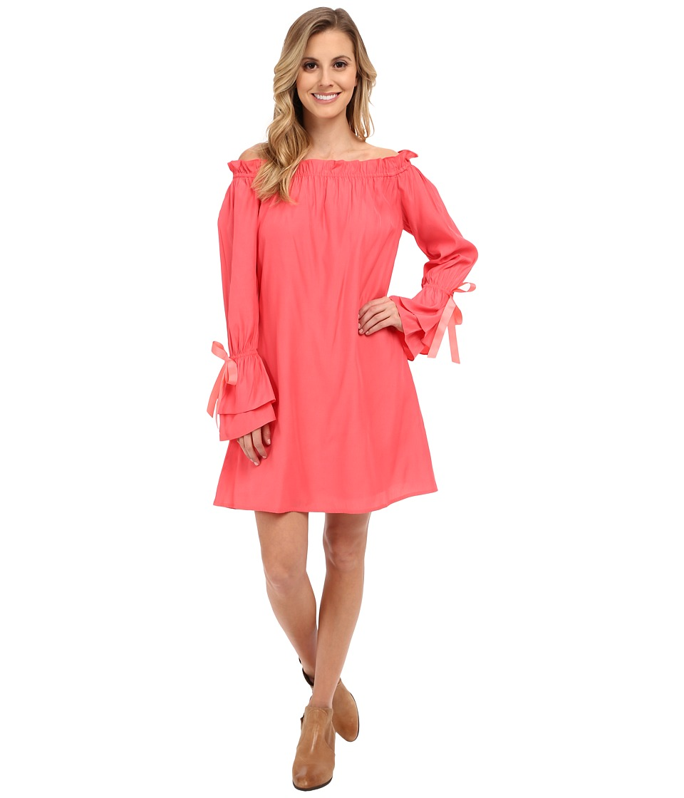 Union of Angels Peyton Dress Coral Womens Dress