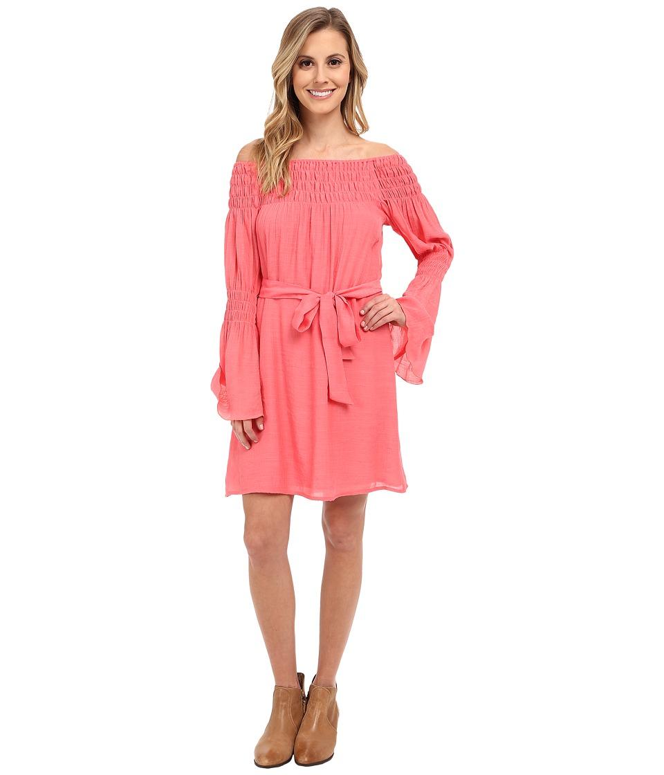 Union of Angels Zuliet Dress Coral Womens Dress
