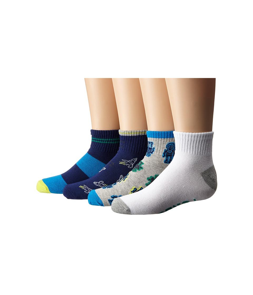Stride Rite 8 Pack Turbo Tommy Quarter Infant/Toddler/Little Kid/Big Kid Grey Boys Shoes