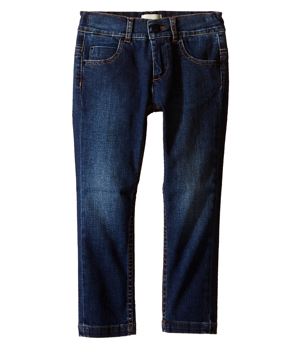 Fendi Kids Denim Pants with Eye Patch Detail on Back Pocket Toddler Denim Boys Jeans