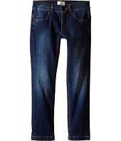 Fendi Kids - Denim Pants with Eye Patch Detail on Back Pocket (Little Kids)