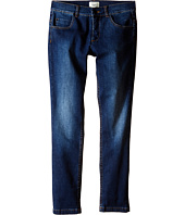 Fendi Kids - Denim Pants with Eye Patch Detail on Back Pocket (Big Kids)