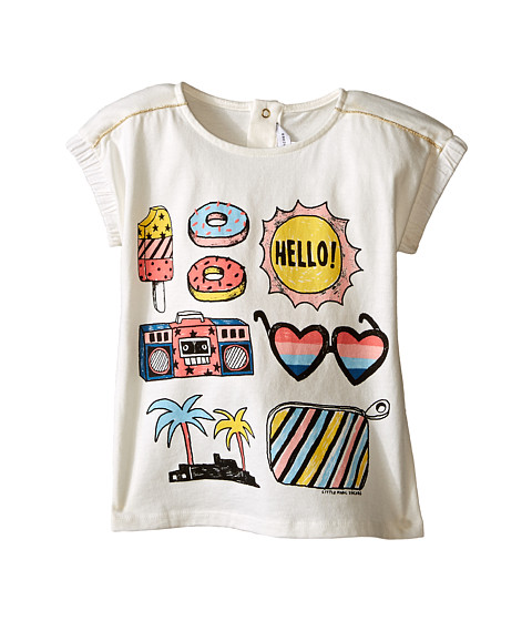 Little Marc Jacobs Jersey Tee Shirt with Mouse or Beach Supplies (Infant)