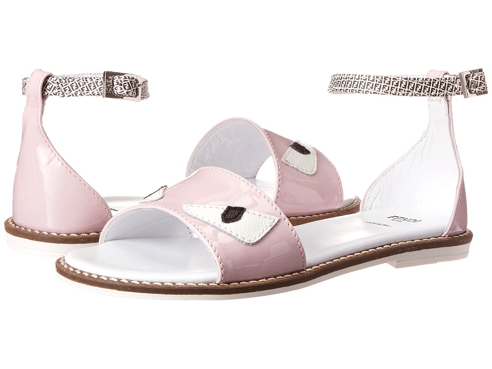 Fendi Kids Monster Eye Sandals Little Kid/Big Kid Pink Girls Shoes