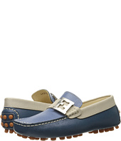 Fendi Kids - Color Block Moccasins w/ Logo Detail (Little Kid/Big Kid)