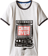 Little Marc Jacobs - Jersey Tee Shirt Game Over (Big Kids)