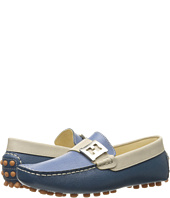 Fendi Kids - Color Block Moccasins w/ Logo Detail (Big Kid)