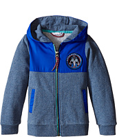 Little Marc Jacobs - Fleece and Nylon Cardigan with Hood (Toddler/Little Kids)