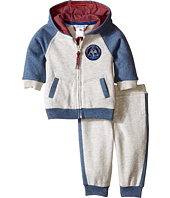 Little Marc Jacobs - Set of Fleece Jogging Grey and Blue (Infant)