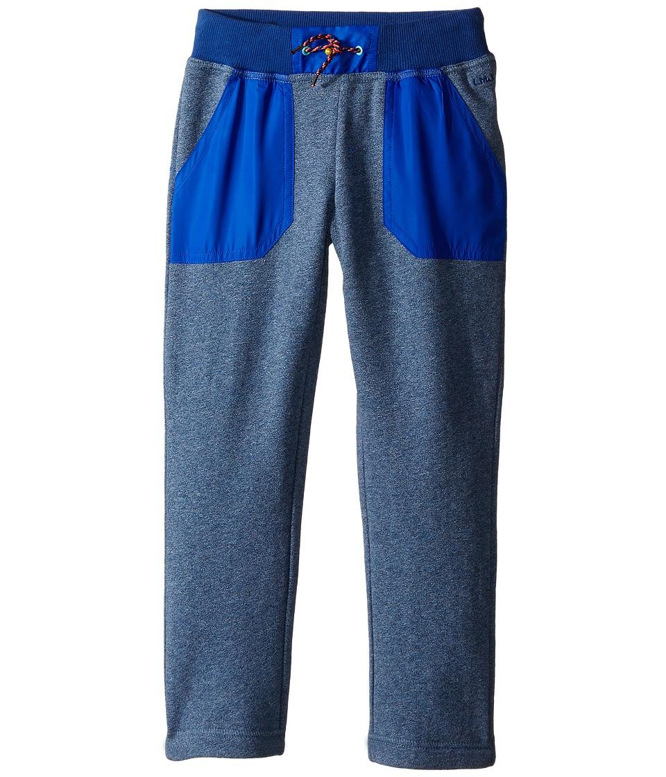 Little Marc Jacobs Trousers Satin Patches Toddler/Little Kids Medium Blue Boys Casual Pants