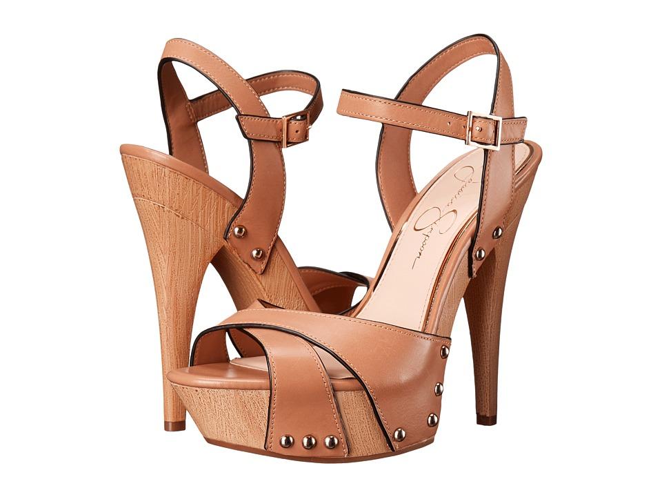 Jessica Simpson Faraday Buff Mari Buff High Heels