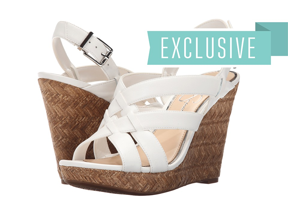 Jessica Simpson Jaime Powder Sleek Womens Wedge Shoes