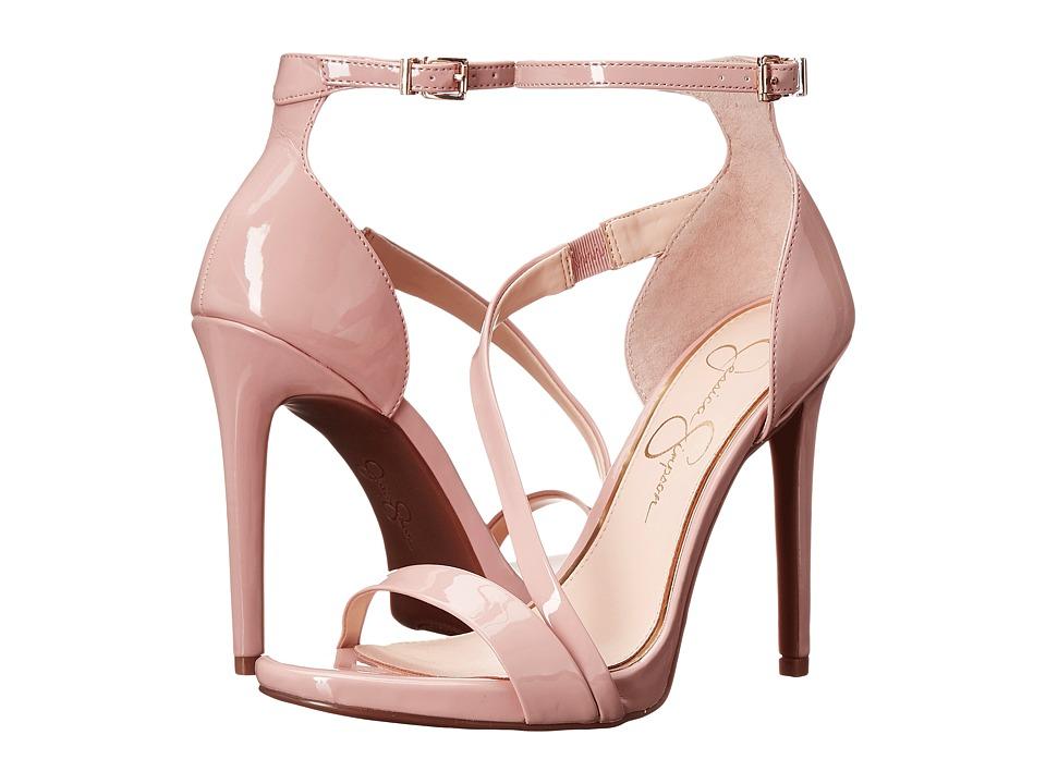 Jessica Simpson Rayli Nude Blush Patent High Heels