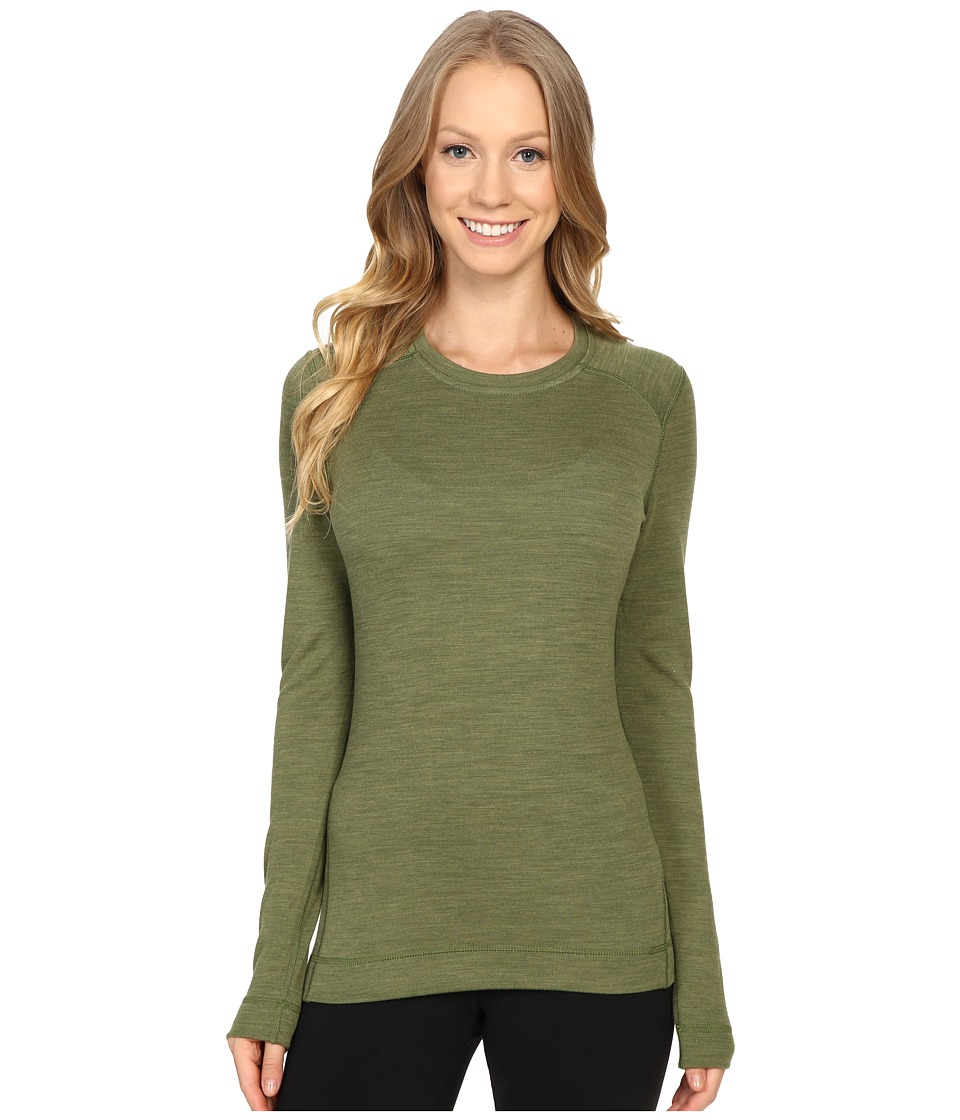 Smartwool - NTS Mid 250 Crew Top (Light Loden Heather) Women