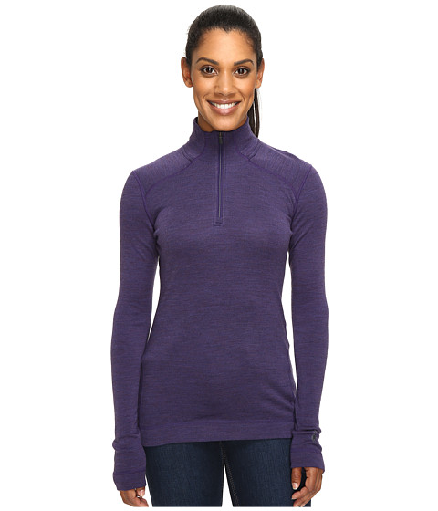 Smartwool NTS Mid 250 Zip Top - Mountain Purple Heather
