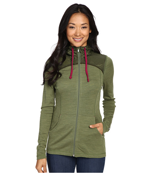 Smartwool NTS Mid 250 Hoodie Sport - Light Loden Heather