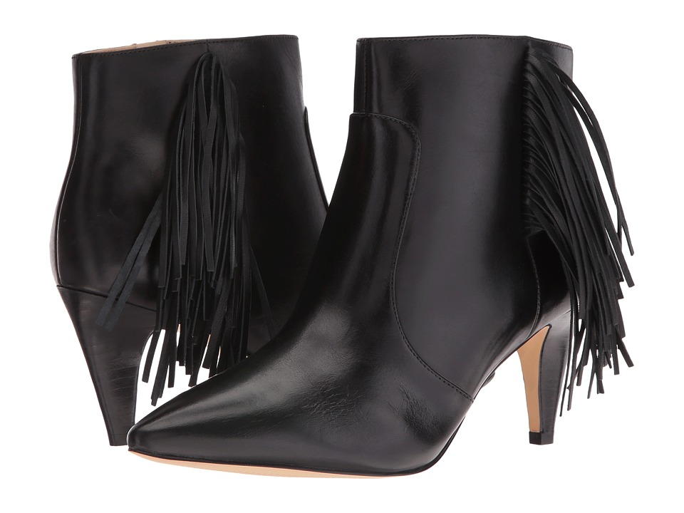 Nine West Jetra (Black Leather) Women