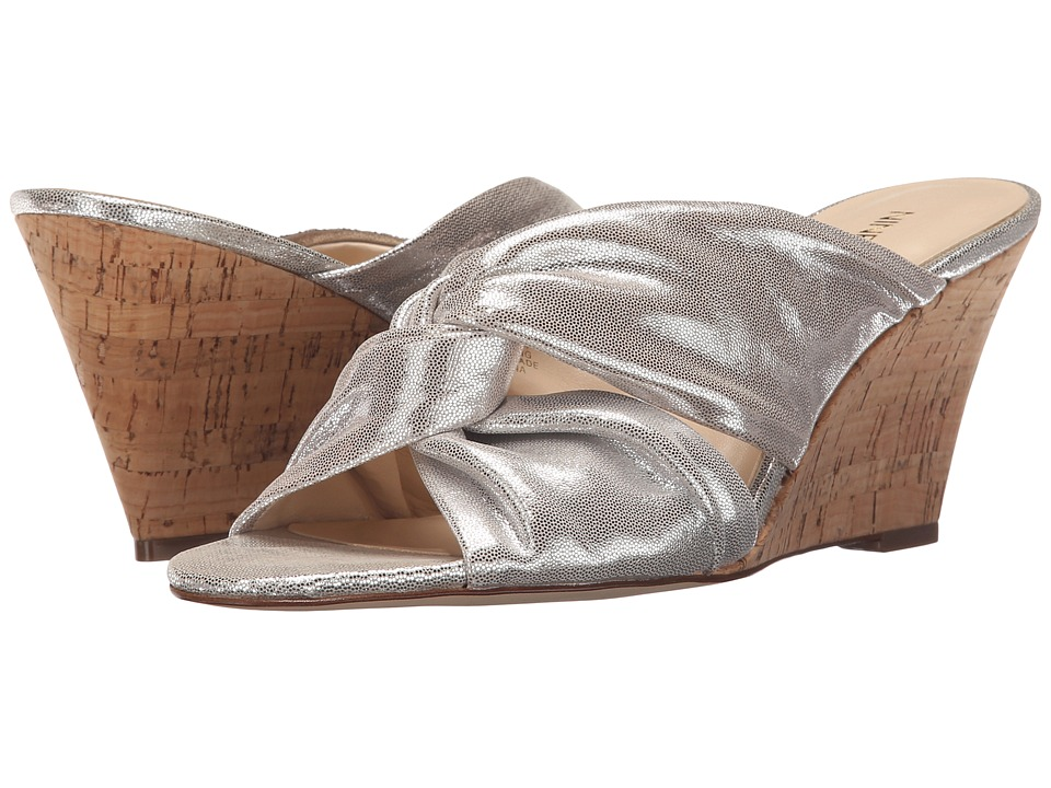 Nine West - Kessie (Light Silver Metallic) Womens Shoes