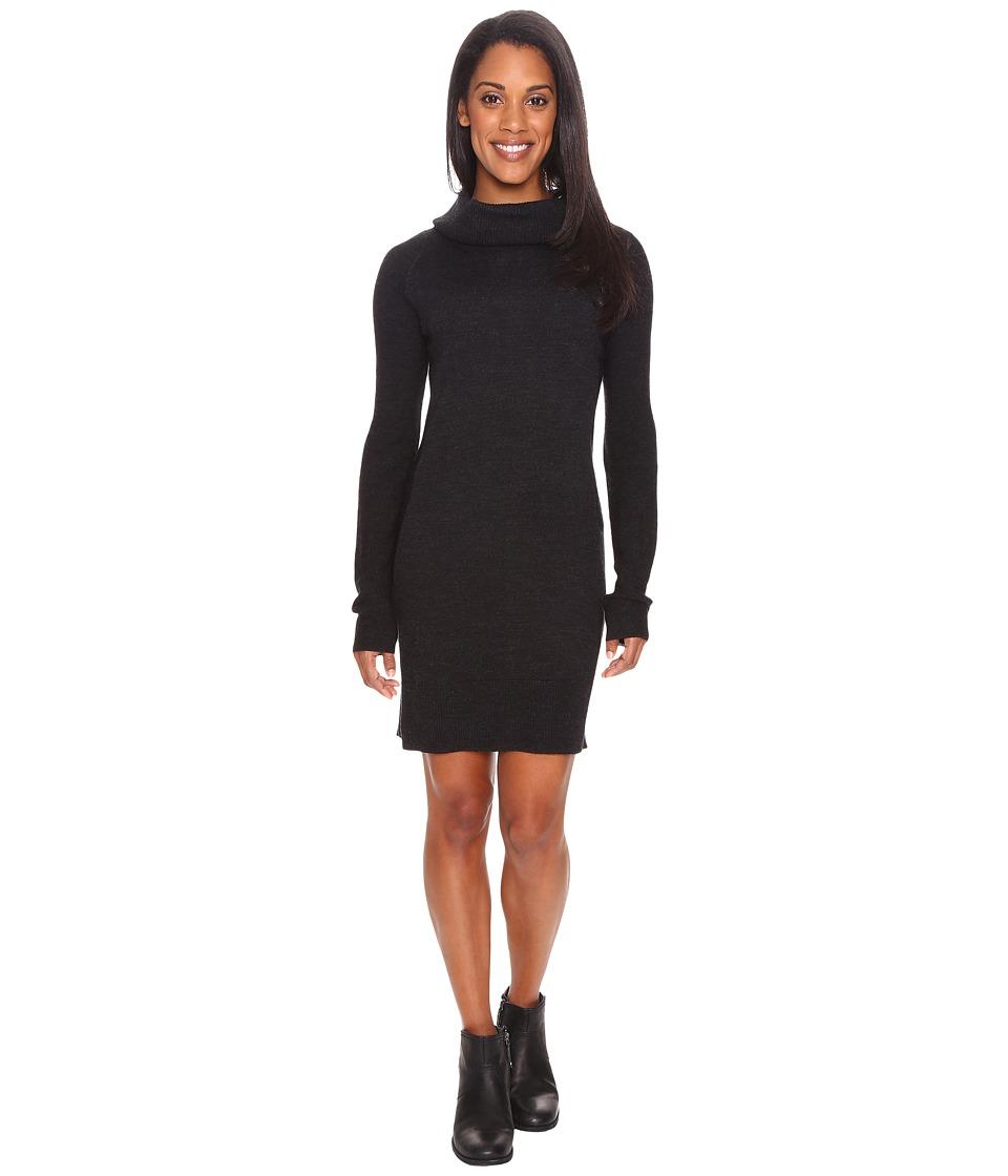 Smartwool Granite Falls Sweater Dress (Charcoal Heather) ...