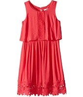 Ella Moss Girl - Kali Dress w/ Crochet Trim (Big Kids)