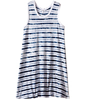 Splendid Littles - Indigo Tie-Dye Yarn Dye Dress (Big Kids)