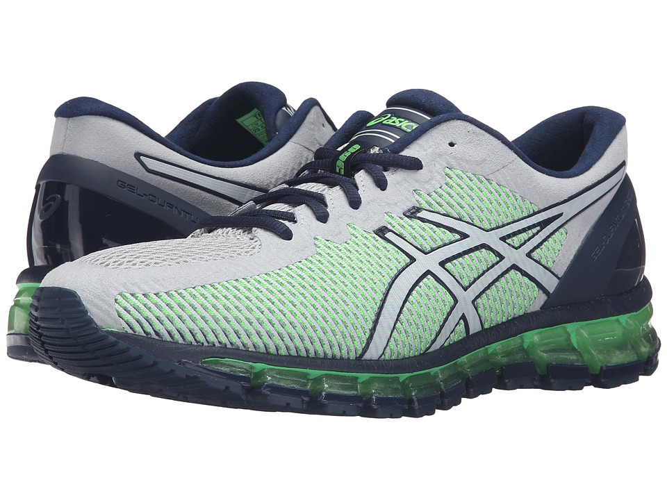 ASICS Gel-Quantum 360 CM (Mid Grey/White/Green Gecko) Men
