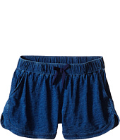 Splendid Littles - Indigo Solid Yarn Dye Shorts (Big Kids)