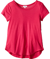 Splendid Littles - Short Sleeve Jersey and Rib Top (Big Kids)