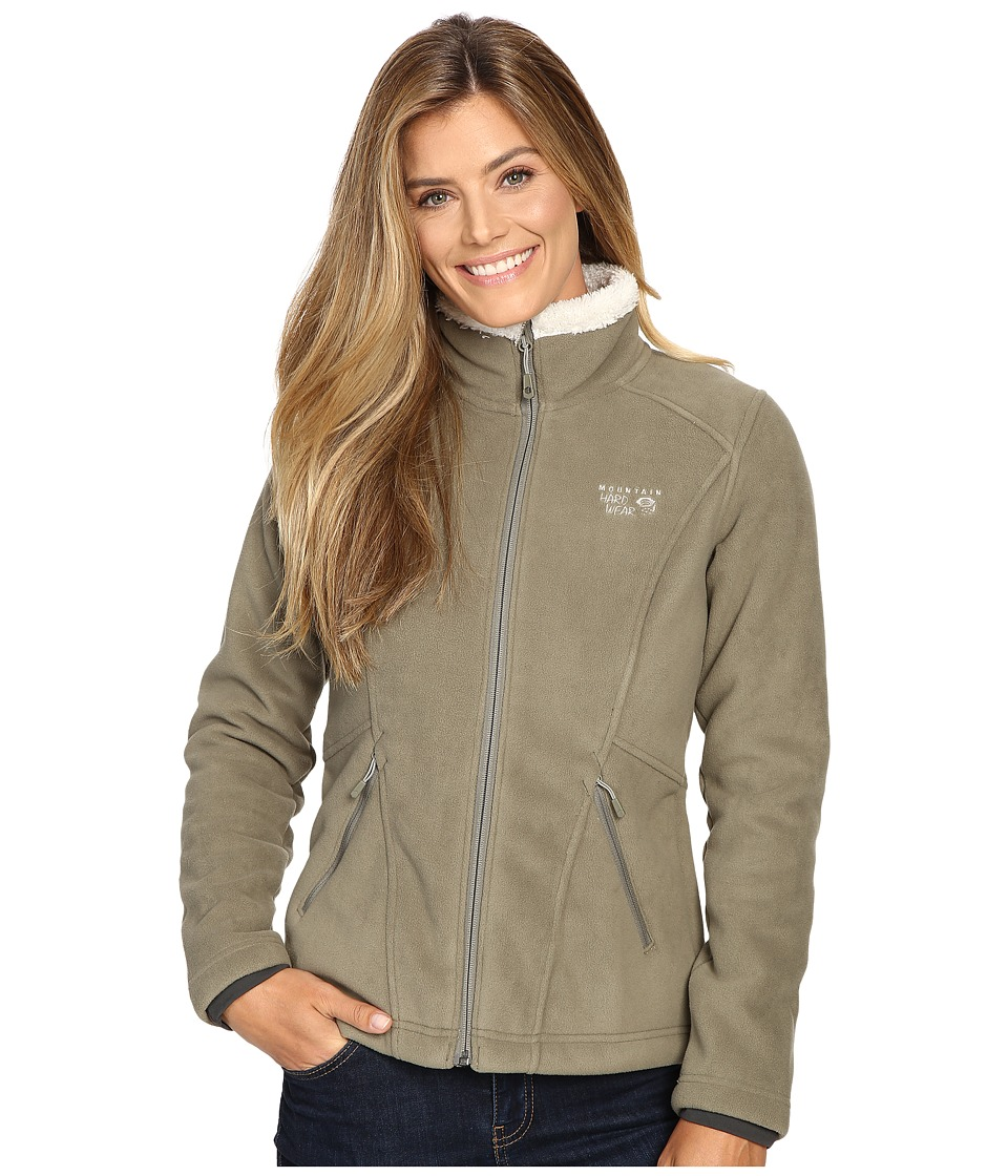 Mountain Hardwear Dual Fleece Jacket (Stone Green) Women