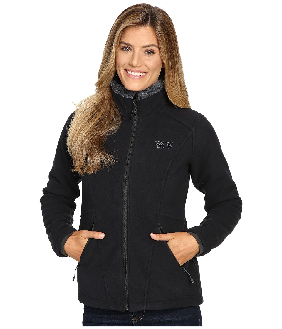 Mountain Hardwear Dual Fleece Jacket (Black) Women