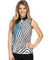 Jamie Sadock - Blow Fish Print Crunchy Sleeveless Top