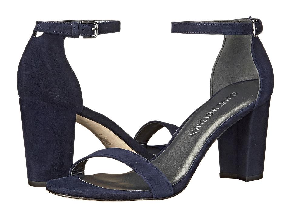 Stuart Weitzman Nearlynude (Nice Blue Suede) Women's Shoes