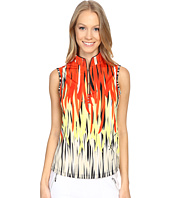 Jamie Sadock - Fringe Print Sleeveless Top