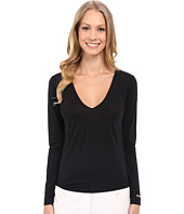 Jamie Sadock - Sunsence Lightweight Long Sleeve Layering Under Garment Top with 30 SPF