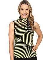 Jamie Sadock - Twister Print Crunchy Sleeveless Top
