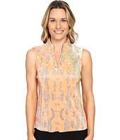 Jamie Sadock - Morning Star Print Crunchy Sleeveless Top