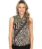 Jamie Sadock - Mad Scientist Print Sleeveless Top