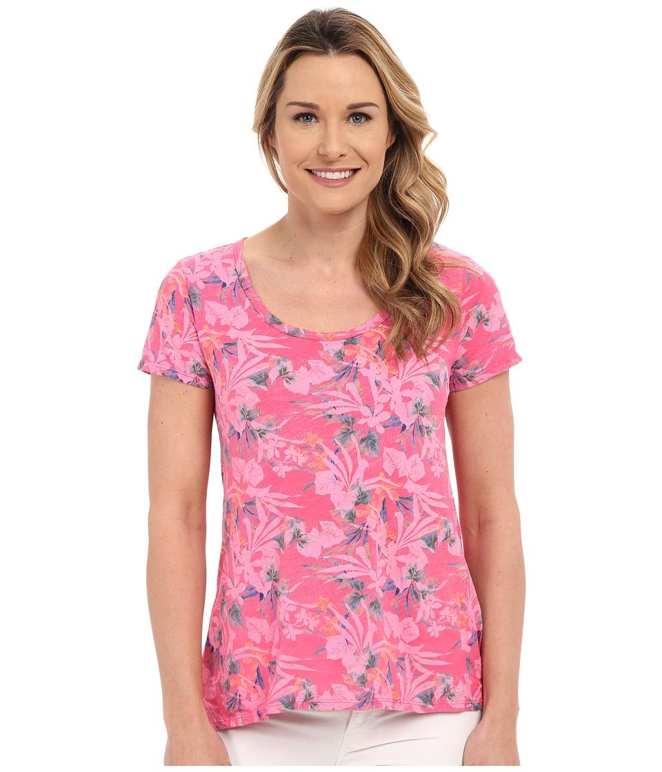 Fresh Produce Paradise Luna Top Papayft Pink Womens Clothing