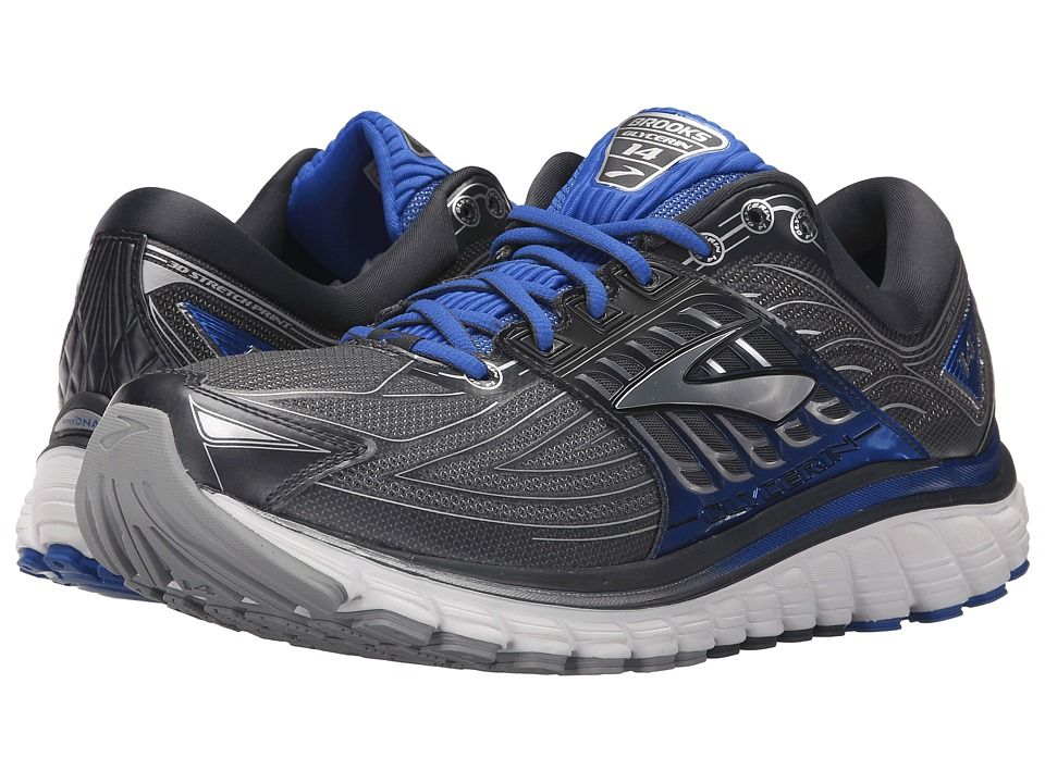 Brooks Glycerin 14 (Anthracite/Electric Brooks Blue/Silver) Men