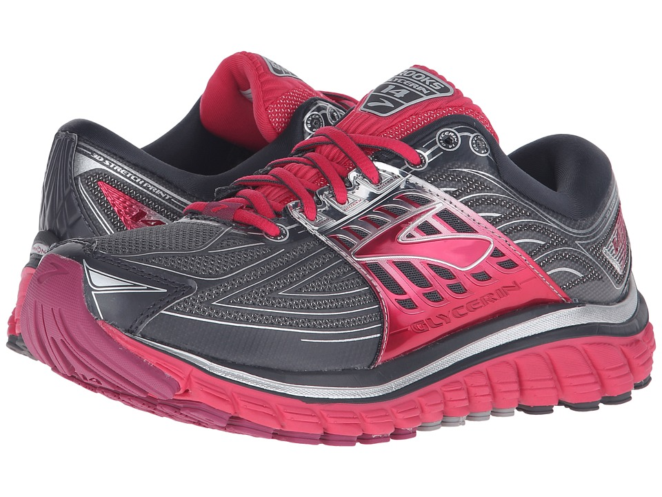 Brooks Glycerin 14 (Anthracite/Azalea/Silver) Women