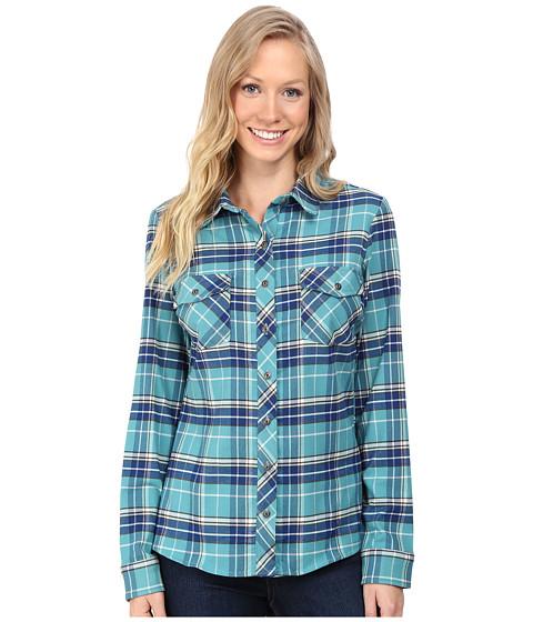 Kuhl alina flannel shirt jasper for Athletic cut flannel shirts