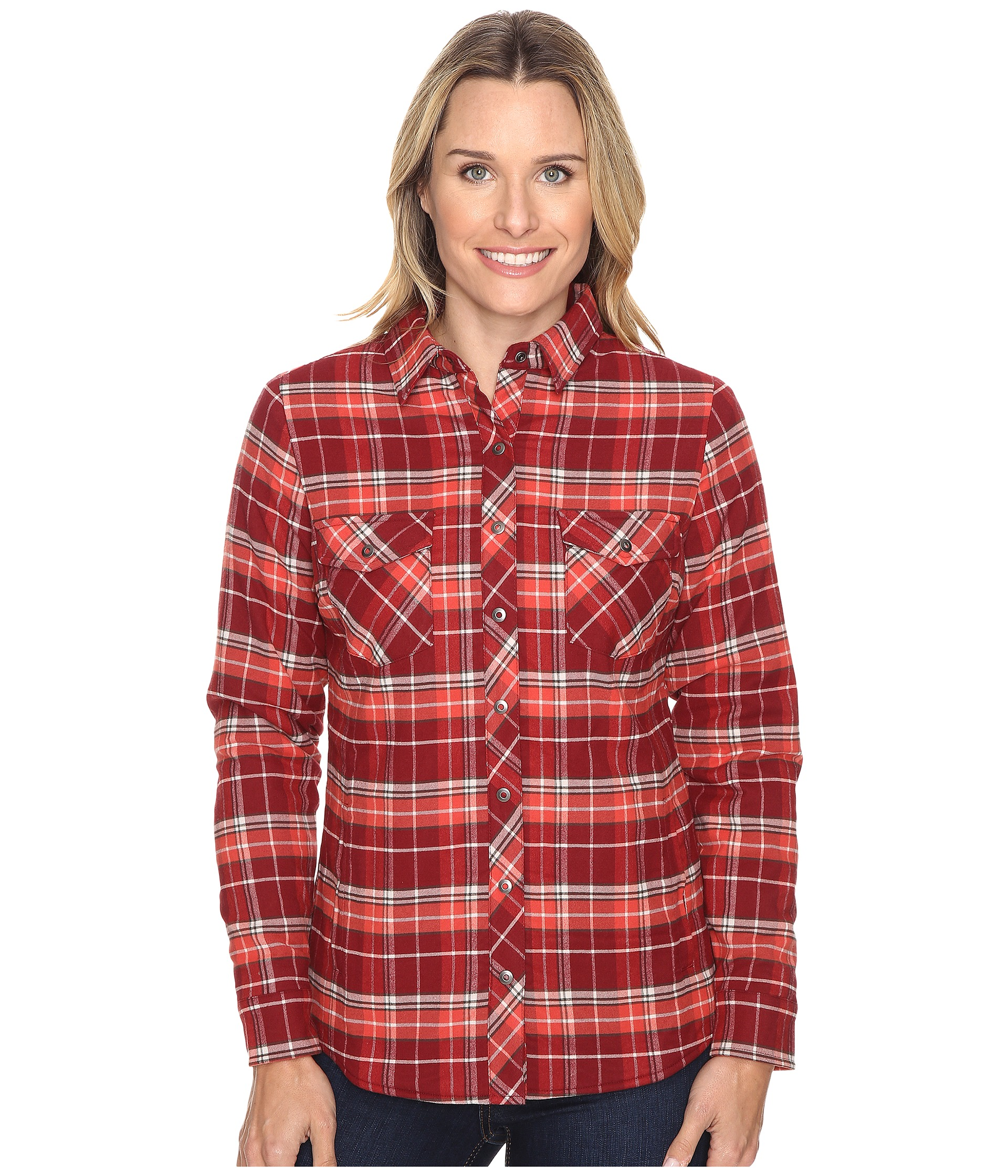 Kuhl amaya lined flannel shirt free shipping for Athletic cut flannel shirts