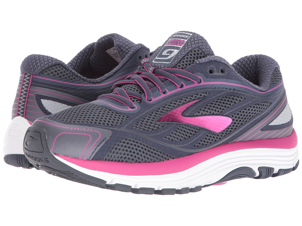 Brooks - Dyad 9 (Ombre Blue/Festival Fuchsia/Mood Indigo) Womens Running Shoes