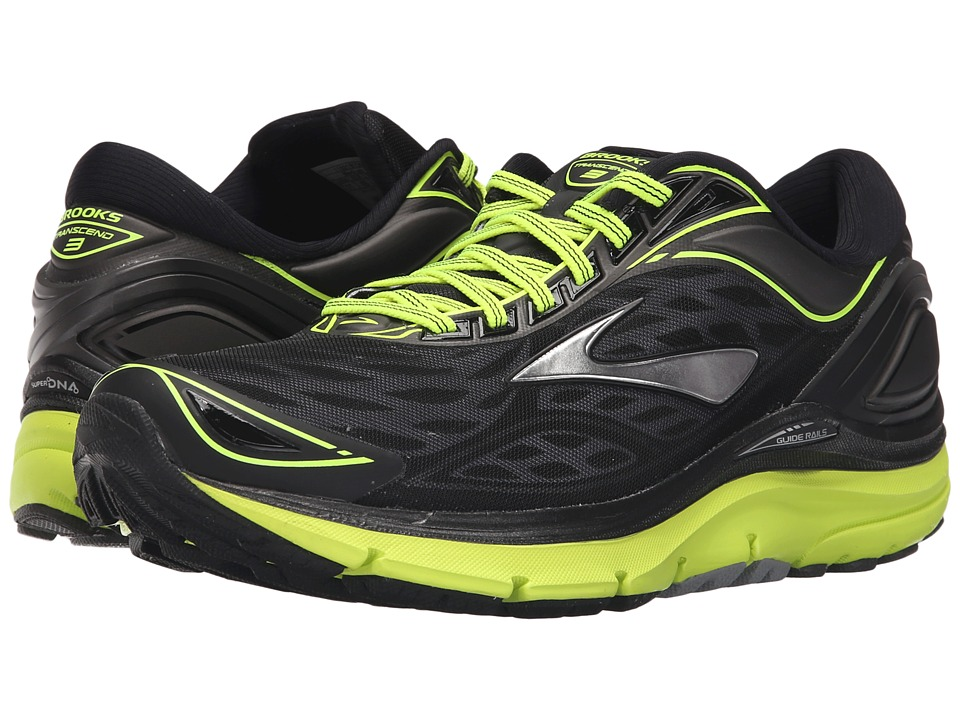 Brooks Transcend 3 (Metallic Charcoal/Black/Nightlife) Men