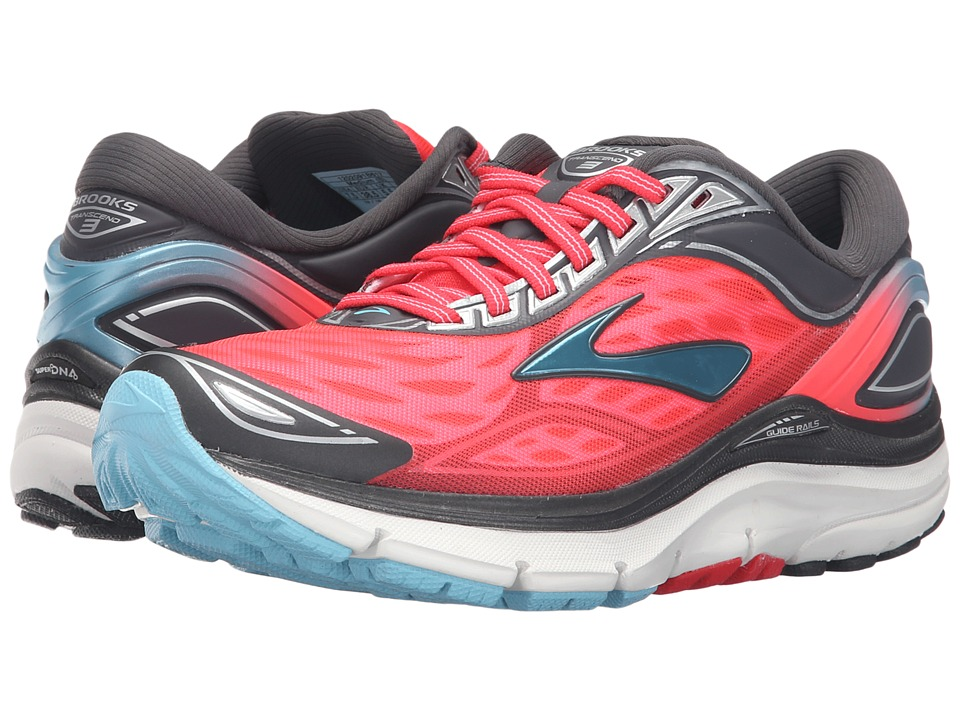 Brooks Transcend 3 (Diva Pink/Anthracite/Bluefish) Women