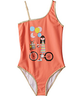 Little Marc Jacobs - Ms Marc Graphic Swimsuit (Toddler/Little Kids/Big Kids)
