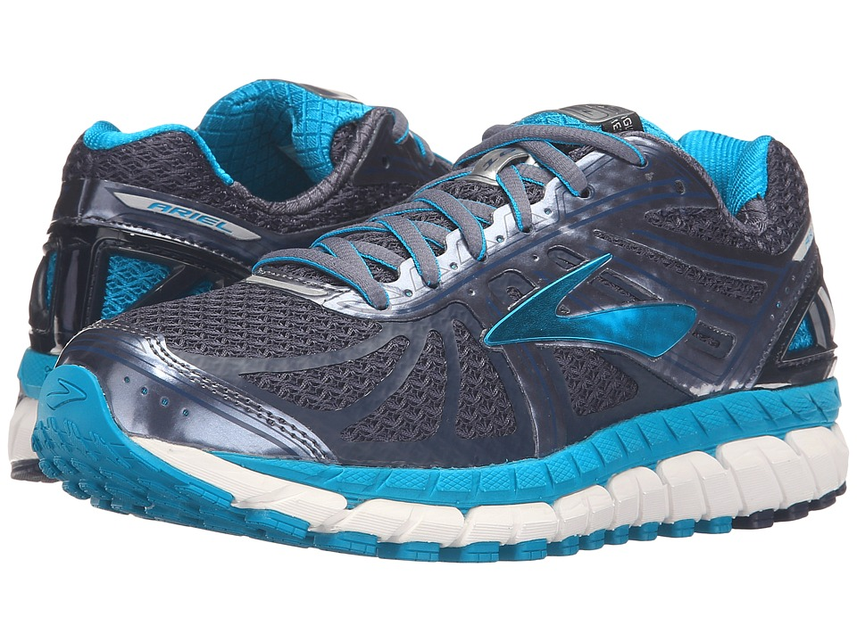 BROOKS Ariel '16 (Mood Indigo/Capri Breeze/Grisalle) Wome...