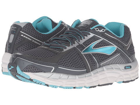 Brooks Addiction 12 - Anthracite/Bluefish/Silver