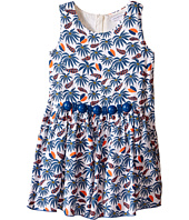 Little Marc Jacobs - Twill Viscose Lined Dress All Over Printed (Toddler/Little Kids)