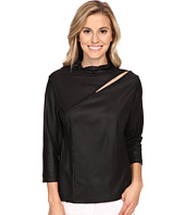 Jamie Sadock - Life Style 3/4 Sleeve with Front Asymmetrical Slit at Shoulder